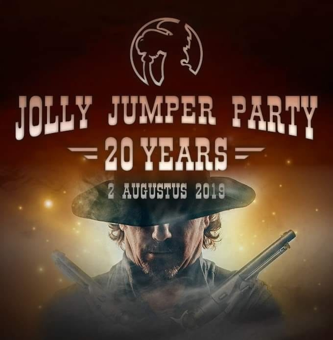 Jollyjumperparty affiche op 02/08/2019
