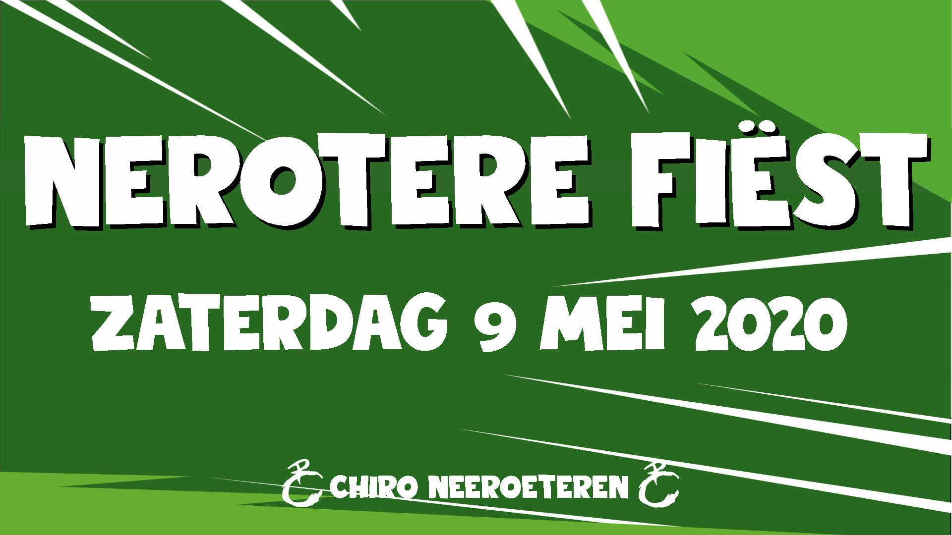 Nerotere Fiëst affiche op 10/06/2020