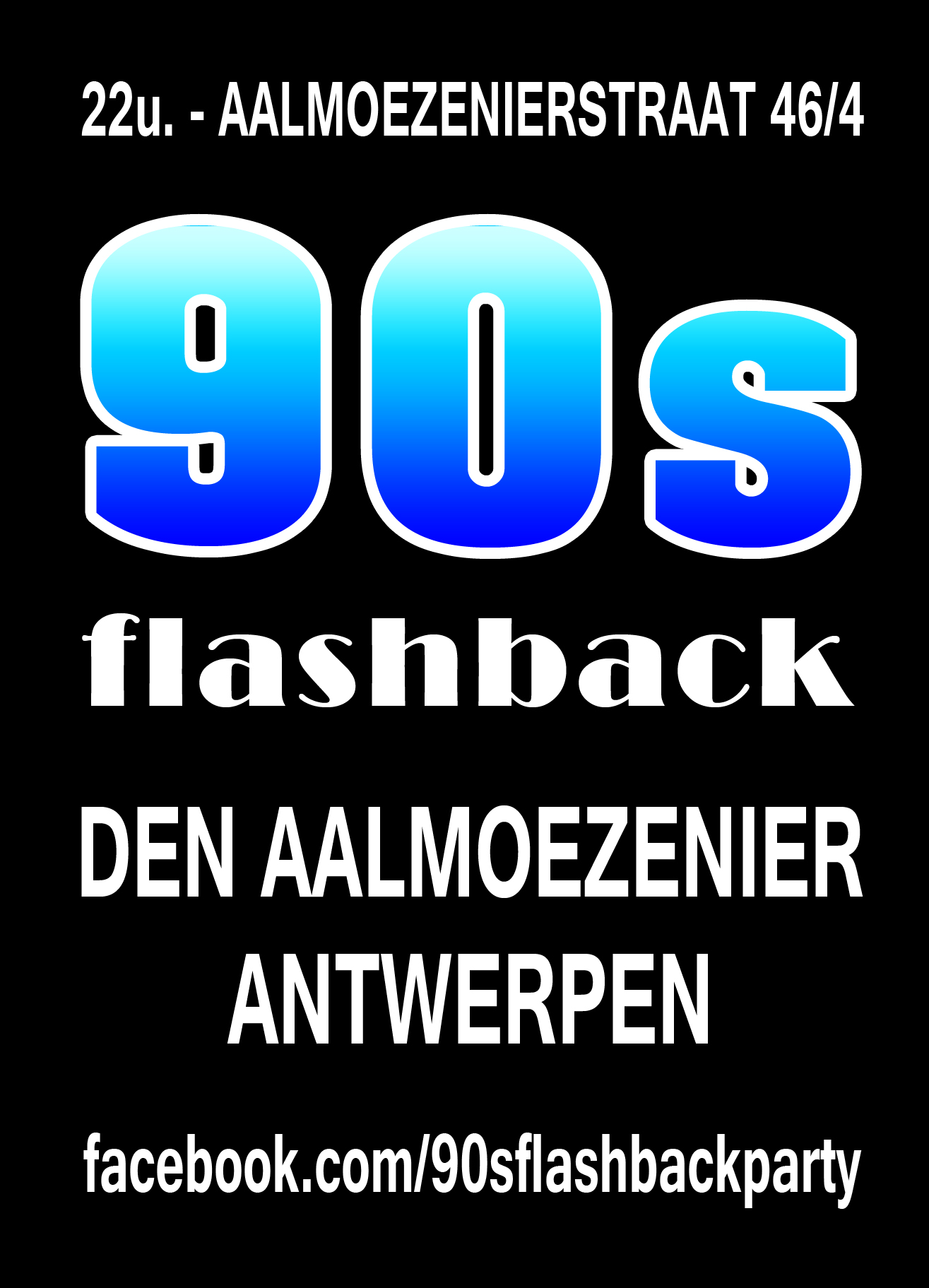 90s Flashback Party affiche op 26/10/2019