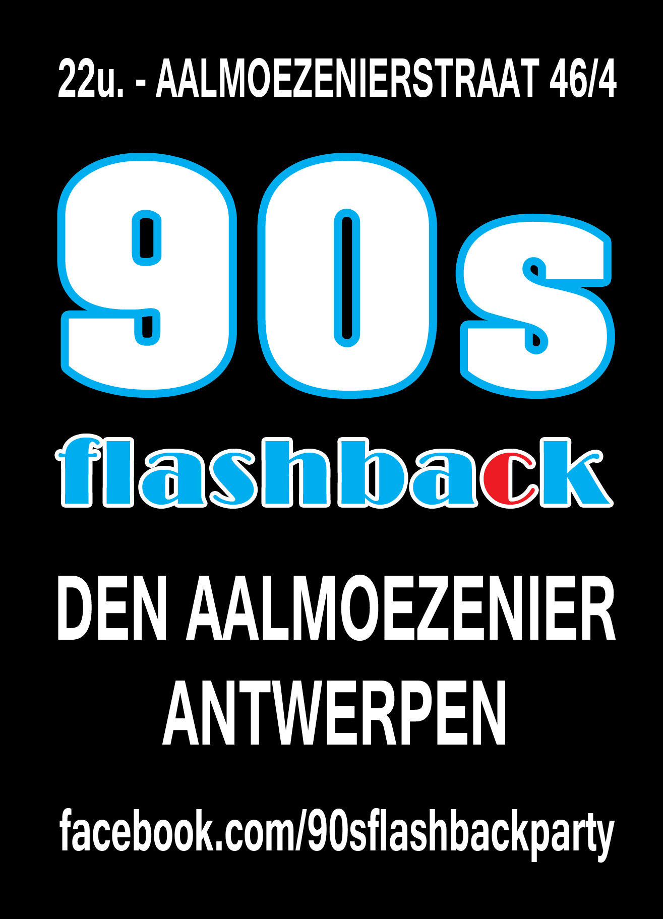 90s Flashback Party affiche op 20/10/2018