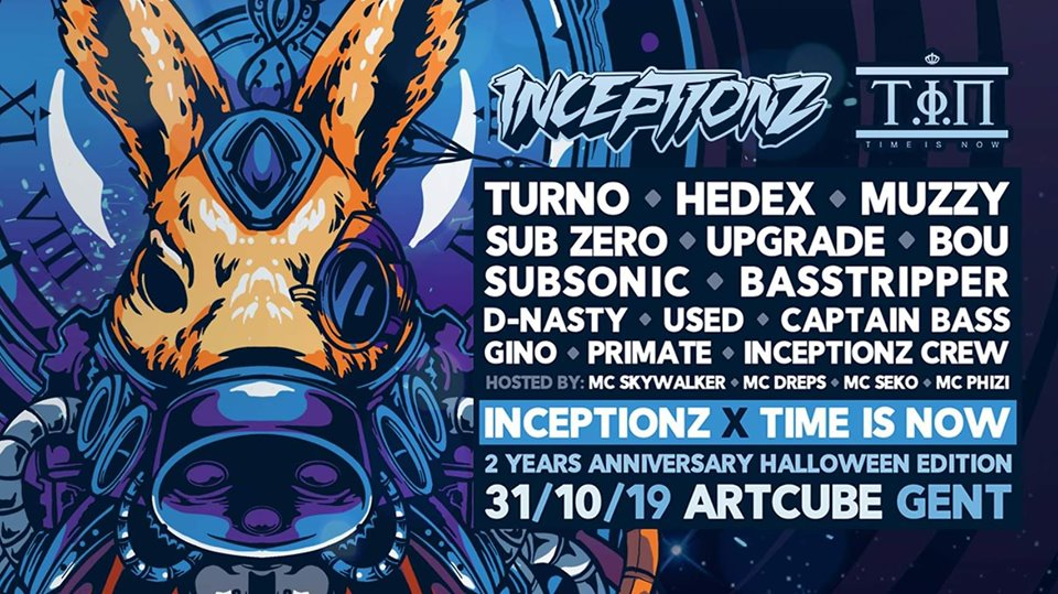 Inceptionz x Time is Now: 2 Years Anniversary Halloween Edition