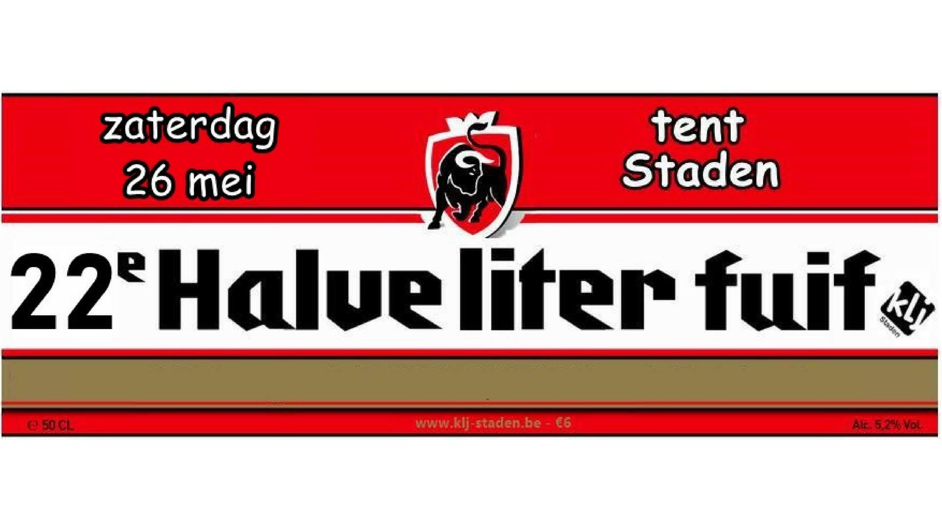 Halve Liter fuif XXII