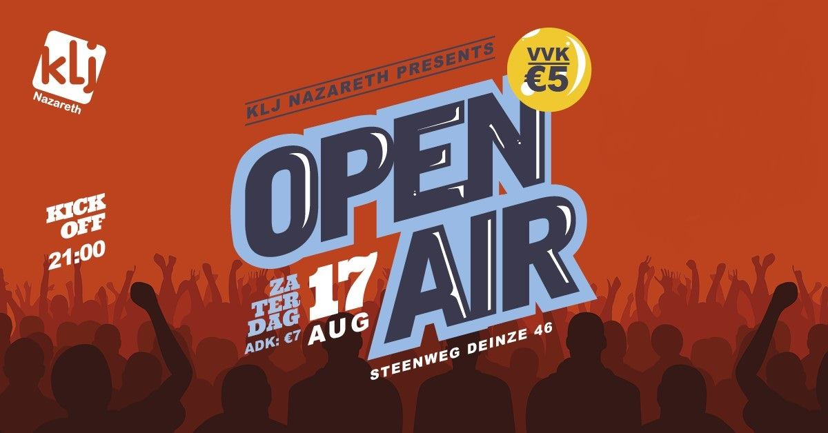 OPEN AIR! 2019 affiche op 17/08/2019