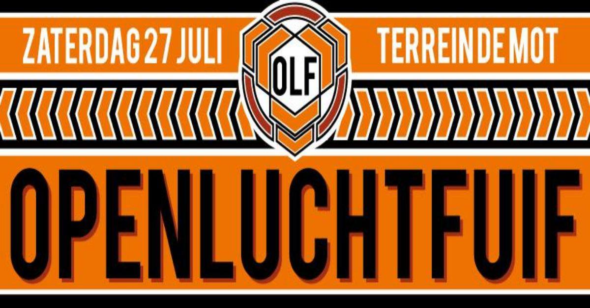 Openluchtfuif Lebbeke 2019