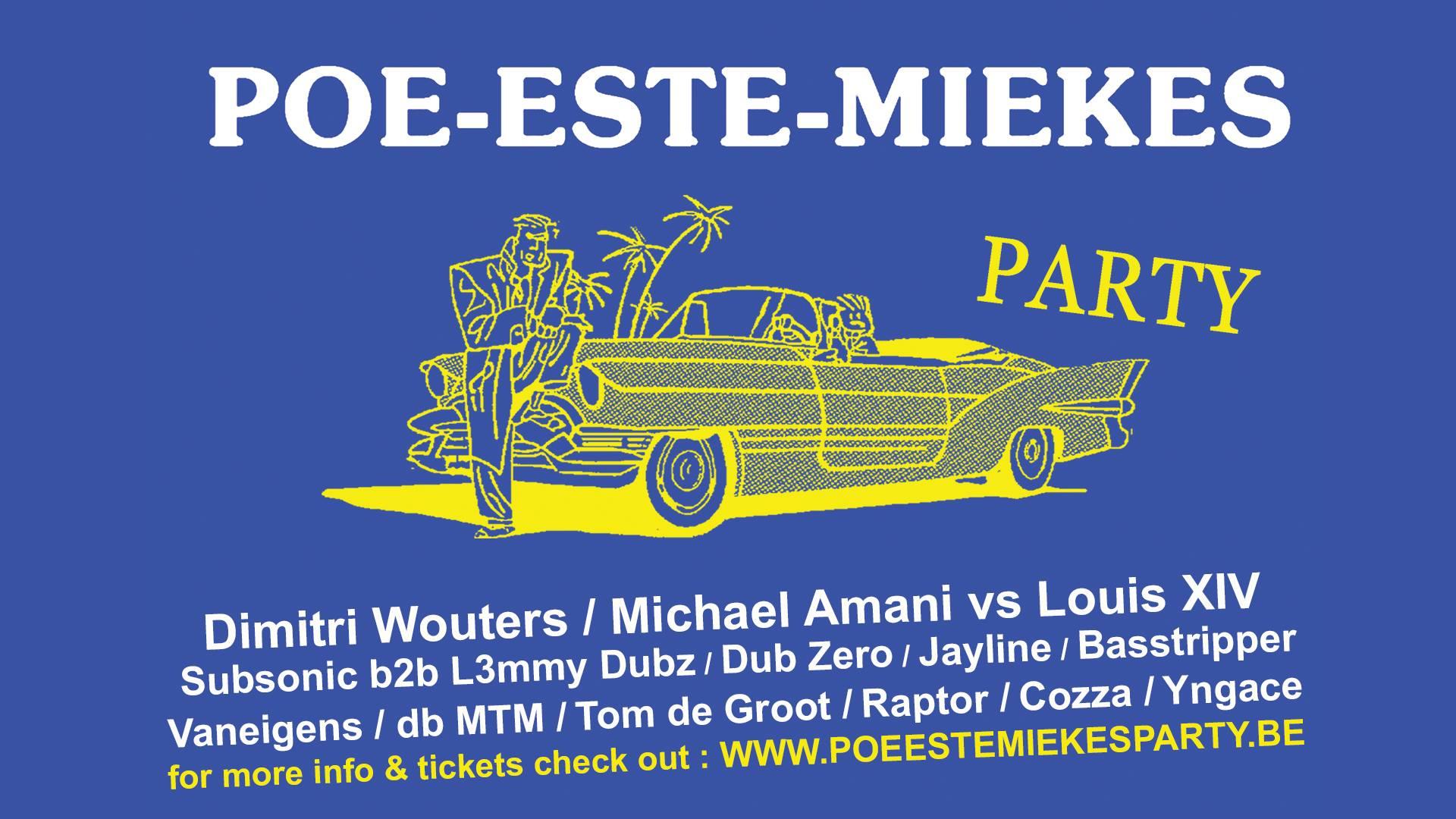 Poe-este-Miekes Party