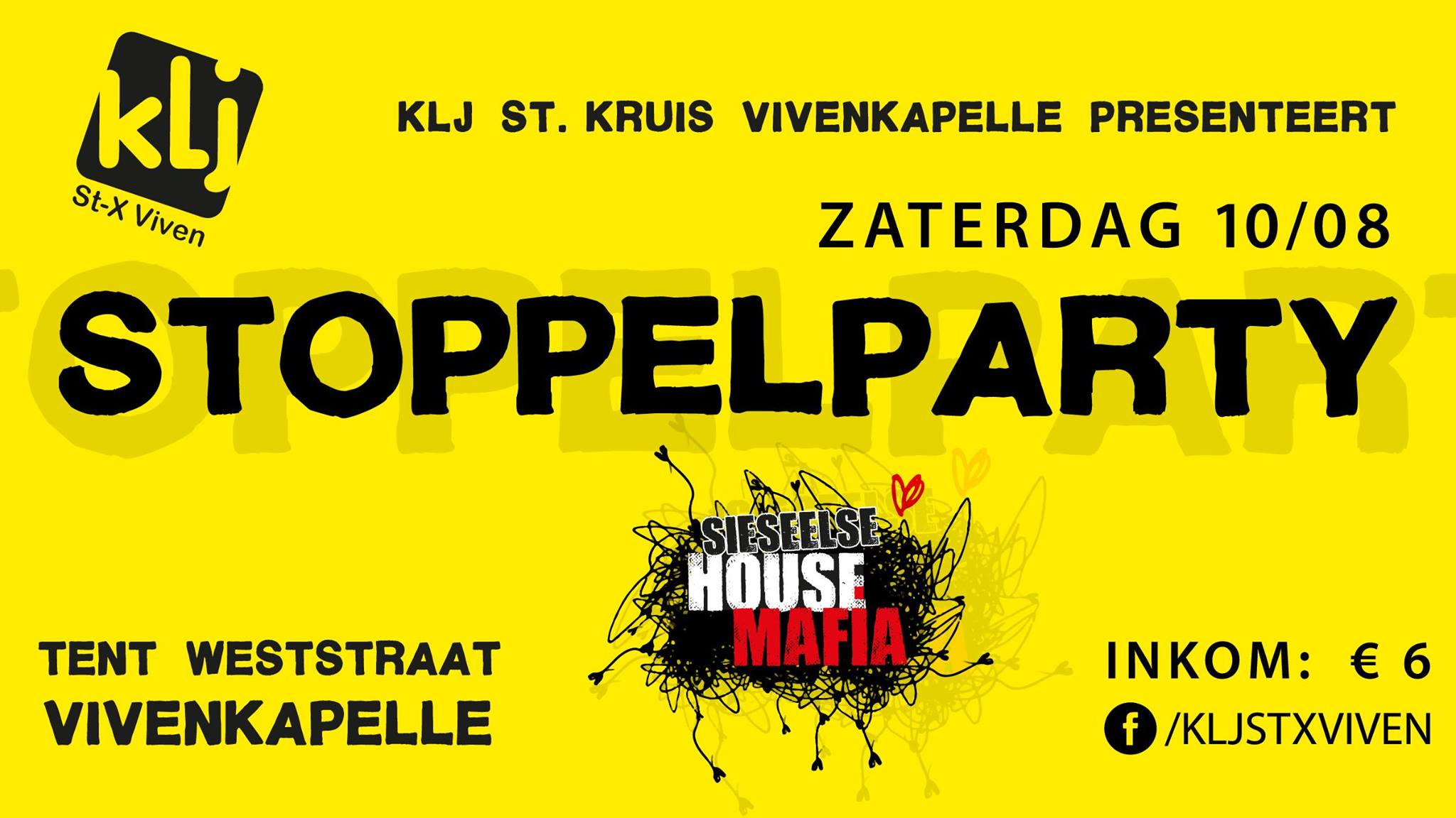 Stoppelparty 2019 affiche op 10/08/2019
