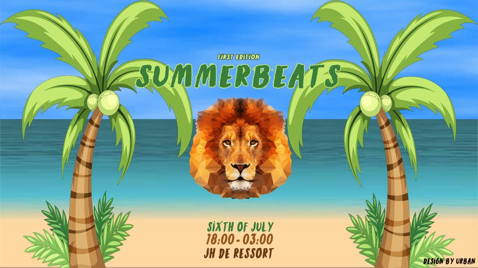 Summerbeats: first edition affiche op 06/07/2019